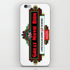 Great Movie Ride Sign iPhone Skin