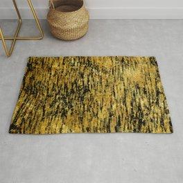 My golden pattern Rug