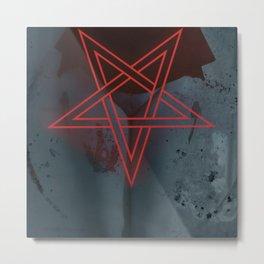 Fucking With A Pentagram I'm Your Sacrificial Lamb Metal Print