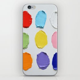 Polka Daub Slabs iPhone Skin