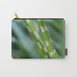 FRESHNESS #1 - Tiger grass - Zebra grass - Miscanthus #macro #art #society6 Carry-All Pouch