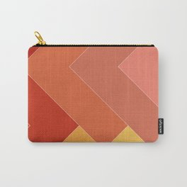 Colorful Urban Tribal Abstract Geometric Pattern Carry-All Pouch