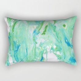 Marbled Sea Rectangular Pillow