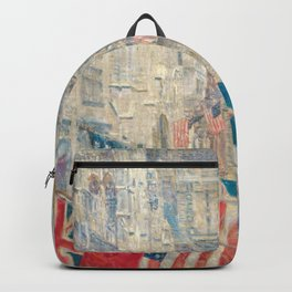 Allies Day by Childe Hassam Backpack
