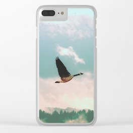 Early Bird Clear iPhone Case