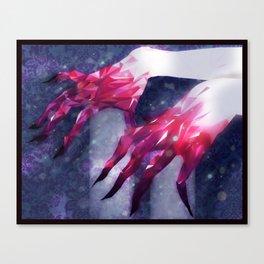 meaty mits Canvas Print