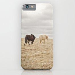 Travel Landscape Photograph, Iceland iPhone Case