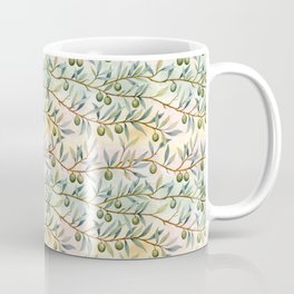 olive branches pattern Coffee Mug
