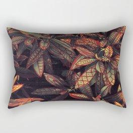 leaves evolved 5 Rectangular Pillow