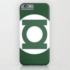 Green Lantern Vector Logo Slim Case iPhone 6s
