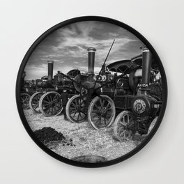 Traction Line Up Wall Clock