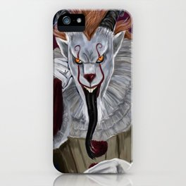 Pennywise As Krampus iPhone Case