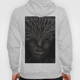 Tree man. Double exposure portrait by T.Amrein Hoody