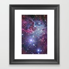 Nebula Galaxy Framed Art Print