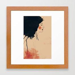 lona Framed Art Print