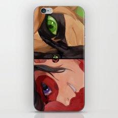 ladybug & cat noir iPhone & iPod Skin