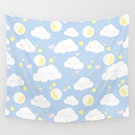 Sleepy clouds Wall Tapestry