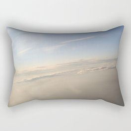 floating on the sky Rectangular Pillow