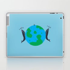 Blue Whales Love Song Laptop & iPad Skin