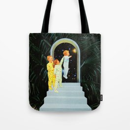 Night in the garden Tote Bag