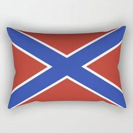 Novorossiya historical  region flag novorussia or new russia Rectangular Pillow