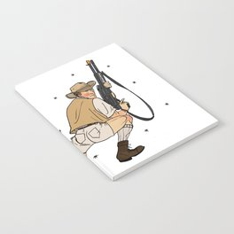 Jurassic Park Pin-Ups ~ Robert Muldoon Notebook