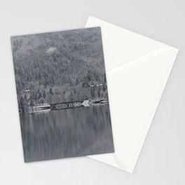 Church At Lake Bohinj Stationery Cards