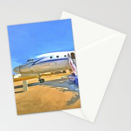 Pop Art Airliner Stationery Cards