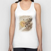 poetry Tank Tops featuring Vintage poetry by Viviana Gonzalez
