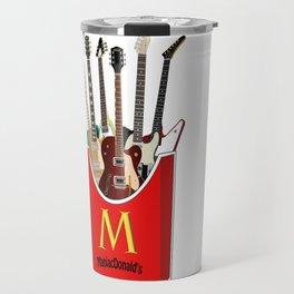 Maniac Donald's guitar potato Travel Mug
