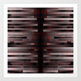 toxic. red. 2018 Art Print
