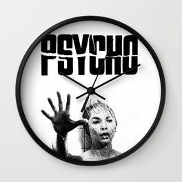 PSYCHO - JANET LEIGH Wall Clock