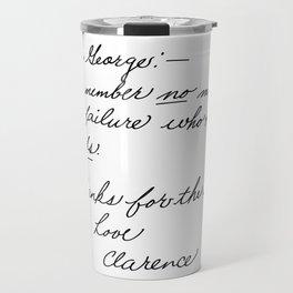 It's a Wonderful Life - Clarence Travel Mug