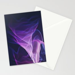 Out of the Blue - Pink, Blue and Ultra Violet Stationery Cards