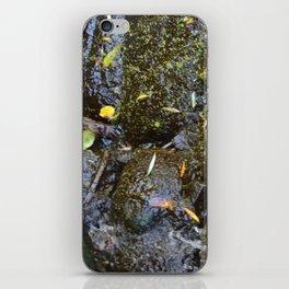 Green Glow iPhone Skin