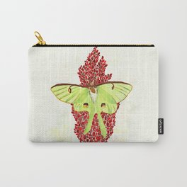 Luna Moth On Sumac Carry-All Pouch