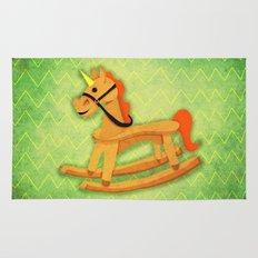 Rocking Unicorn Rug