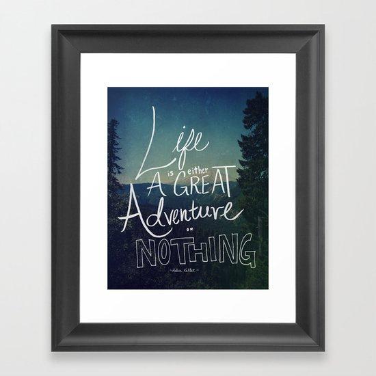 Great Adventure II Framed Art Print