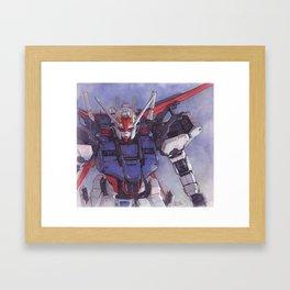Strike Gundam Framed Art Print