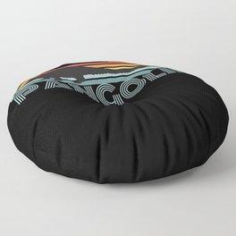 Pangolin Retro Style Floor Pillow
