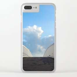 Stairway to the skies Clear iPhone Case