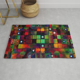 Urban Perceptions, Abstract Shapes Rug