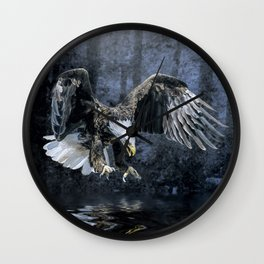 Eye on the prize Wall Clock