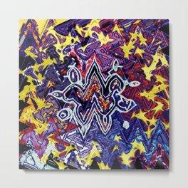 zooropa - waves Metal Print