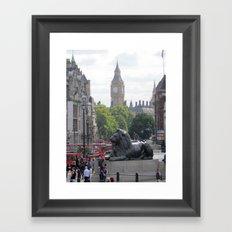 Trafalgar To Big Ben Framed Art Print