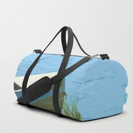 The Boat is Here Painting Duffle Bag