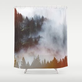 Strange things Shower Curtain