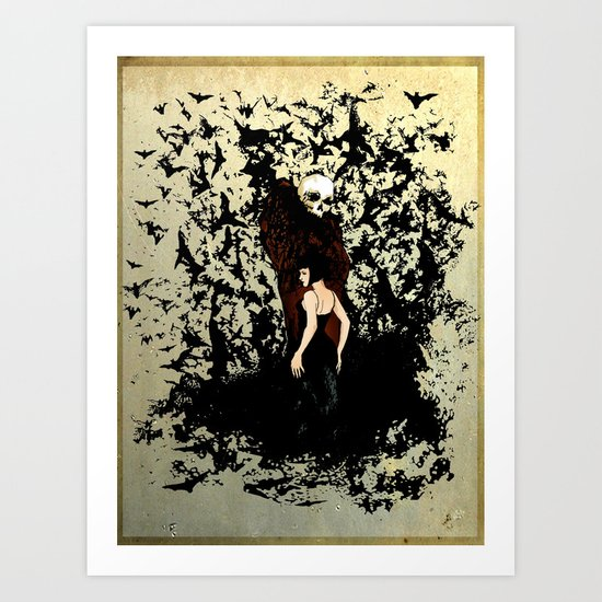 Death and the Maiden Art Print