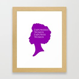 Empowered Women Framed Art Print