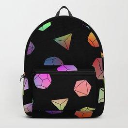Platonic solids II Backpack